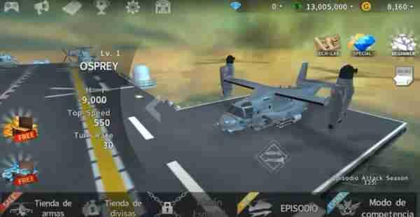 Descargar GUNSHIP BATTLE Helicopter 3D