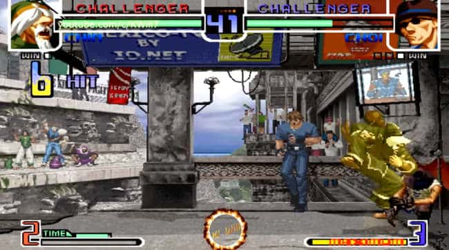 King of Fighters 2002 deutsch android