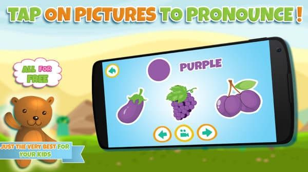 Learning colors for toddlers Apk android