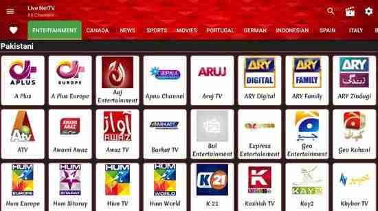 Descargar Live NetTV Apk
