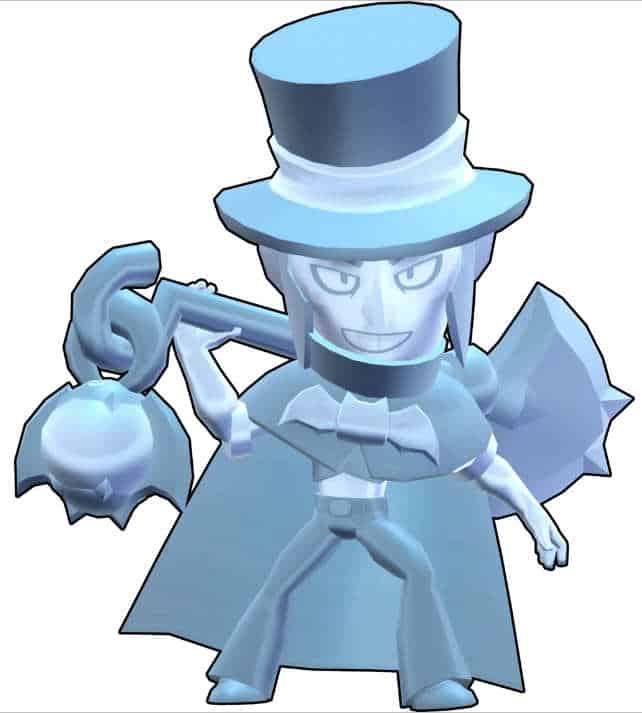 Descargar Mortis Brawl Stars Silver hat
