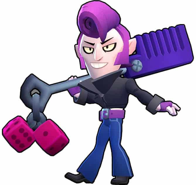 Mortis Brawl Stars rockero
