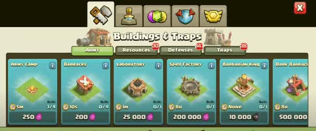 Null's Clash of Clans English android