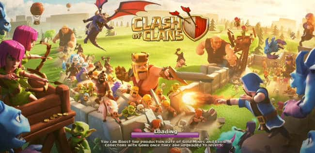 Null's Clash of Clans English ios