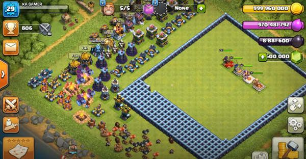 Null's Clash of Clans Nederlands android