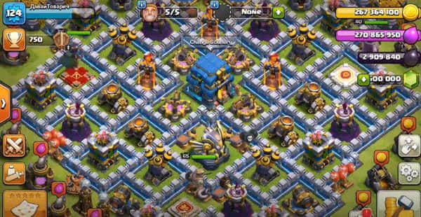 Null's Clash of Clans Português android