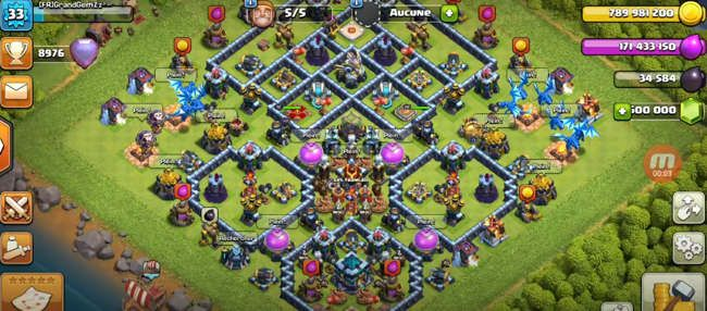 Telecharger Null's Clash of Clans français