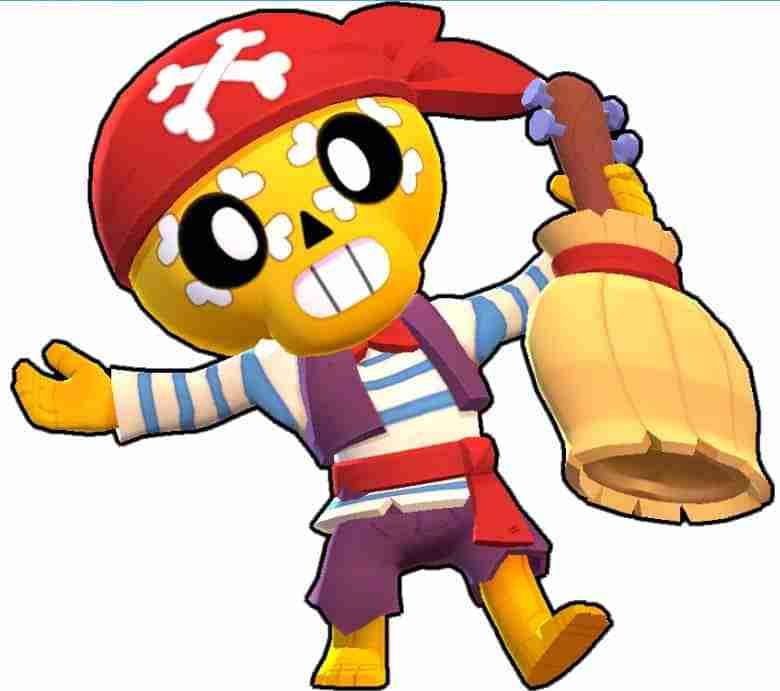 Poco Brawl Stars pirat