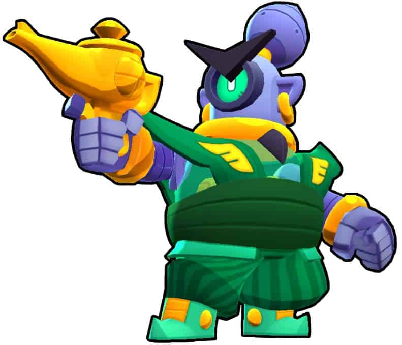 Rico Brawl Stars guardia