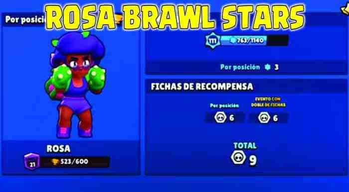 Rosa Brawl Stars inicio
