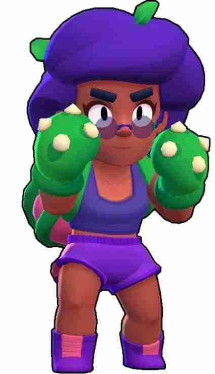 Rosa Brawl Stars boxeadora