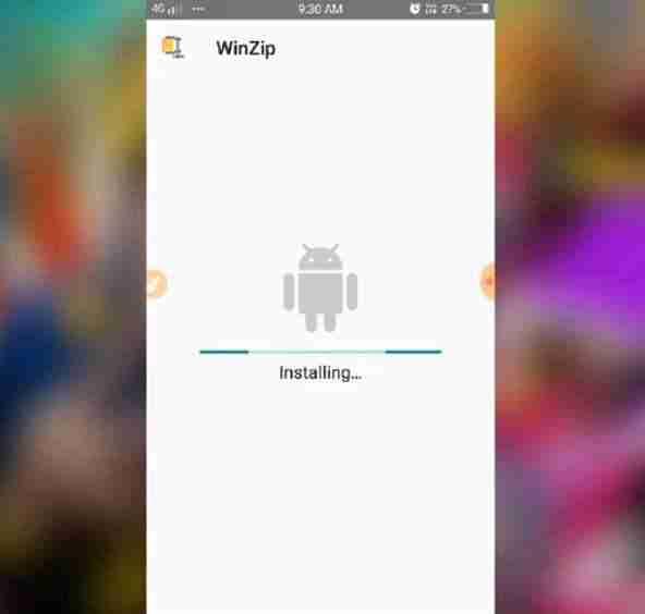 installera WinZip APK svenska