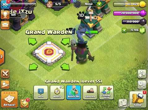 install clash of clans english