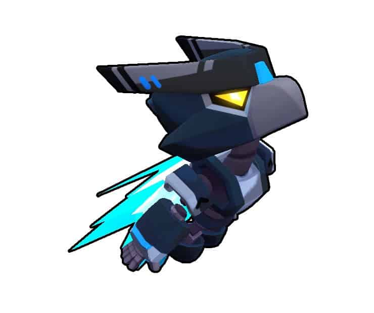 crow night mecha gemas