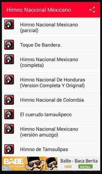himno mexicano