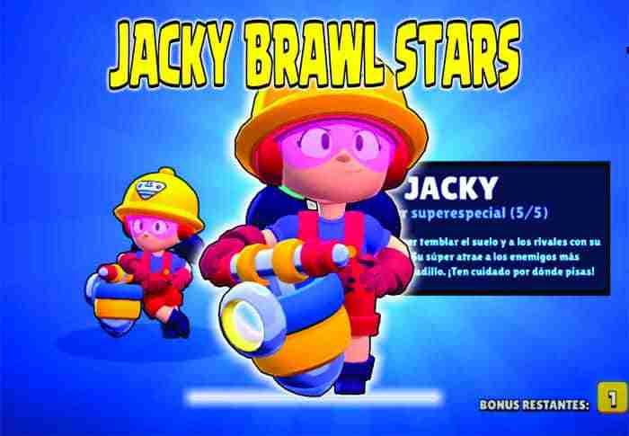 jacky brawl stars guia