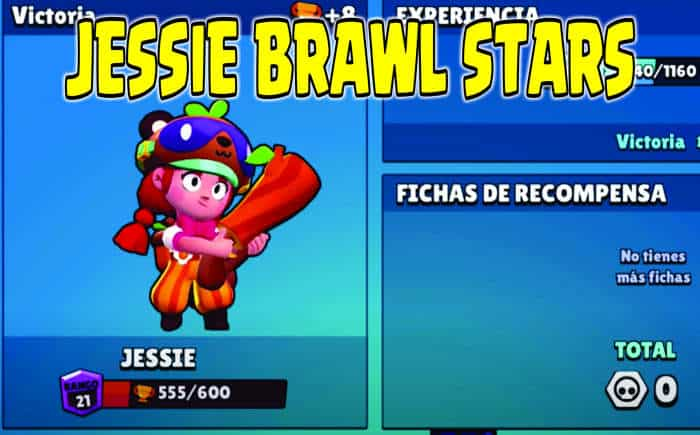 jessie brawl stars portada