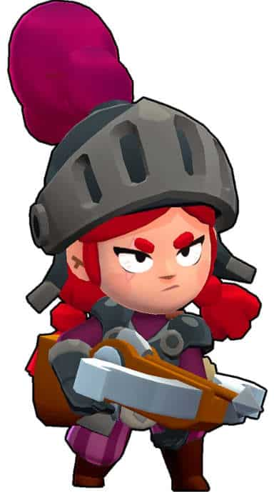 jessie brawl stars shadow knight guerrera