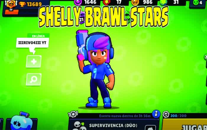shelly brawl stars portada