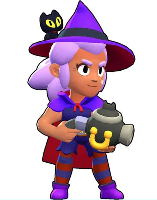 shelly brawl stars bruja