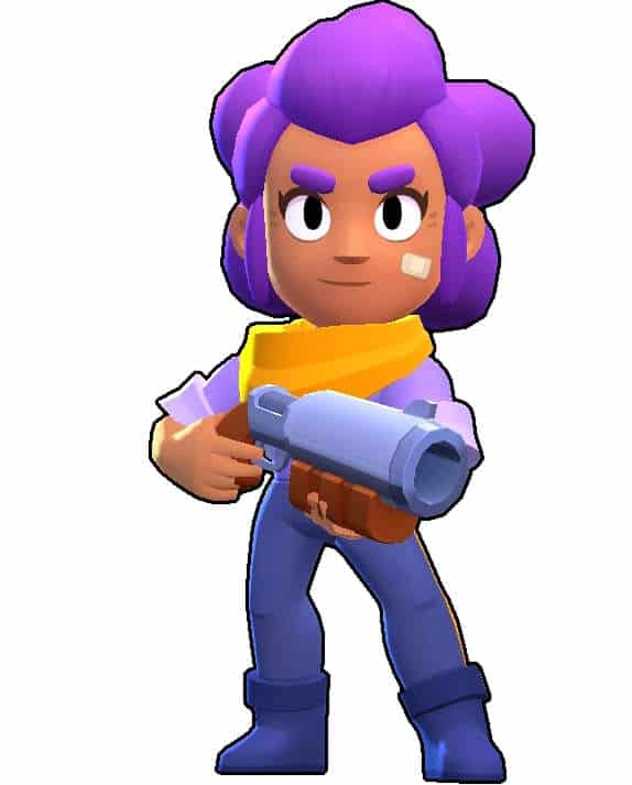 shelly brawl stars actual